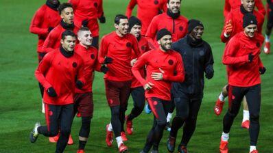 Manchester United/PSG : Marco Verratti titulaire, Daniel Alves sur l'aile droite parisienne