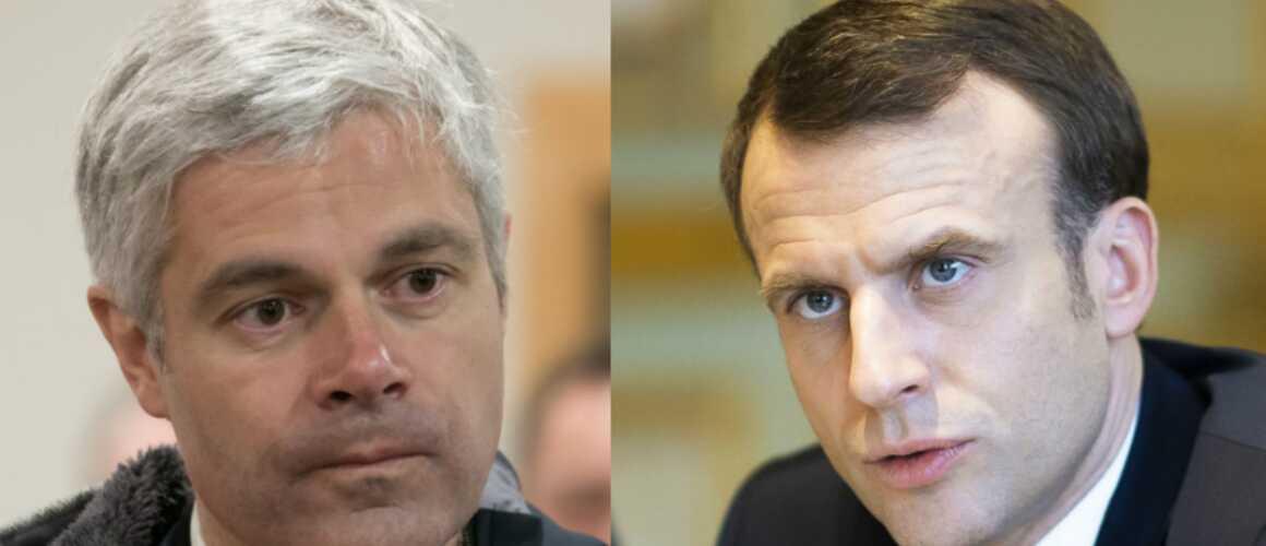 Le Grand débat : Laurent Wauquiez saisit le CSA sur la question du temps de parole d'Emmanuel Macron