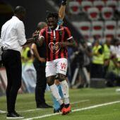 Ligue 1 : piqué par son coach Patrick Vieira, Allan Saint-Maximin réplique sur Twitter !