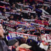 Ligue des Champions : découvrez l'incroyable tifo dévoilé par les supporters lyonnais (REVUE DE TWEETS)