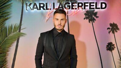 """Mort de Karl Lagerfeld : """"Je perds une partie de moi"""", Baptiste Giabiconi bouleversé par la mort de son mentor (PHOTO)"""