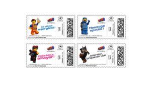 LA GRANDE AVENTURE LEGO® 2 : une collection exclusive de timbres à imprimer depuis chez vous !