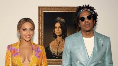 Brit Awards : Beyoncé et Jay-Z créent la polémique en s'affichant devant Meghan Markle grimée en reine