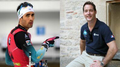 Découvrez ce qu'ont en commun le biathlète Martin Fourcade et l'astronaute Thomas Pesquet
