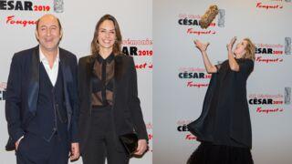 César 2019 : Kad Merad amoureux, Karin Viard survoltée... Les stars s'éclatent à la soirée du Fouquet's (PHOTOS)