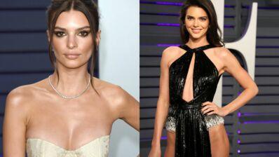 Oscars 2019 : Emily Ratajkowski décolletée, Kendall Jenner et sa tenue osée... à la soirée Vanity Fair (PHOTOS)