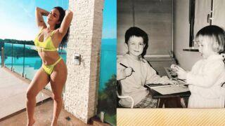 Instagram : la youtubeuse Shera Kerienski divine en bikini, les adorables bouilles de Roméo Elvis et Angèle enfants... (PHOTOS)