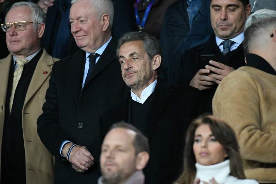 Nicolas Sarkozy n'a pas non plus apprécié le spectacle