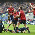 Champions Cup : le Munster qualifié pour les demi-finales en battant Edimbourg sur le fil !