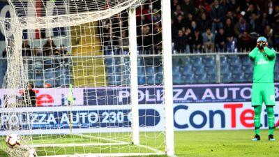 La boulette de Gianluigi Donnarumma avec Milan qui passe mal (VIDEO)