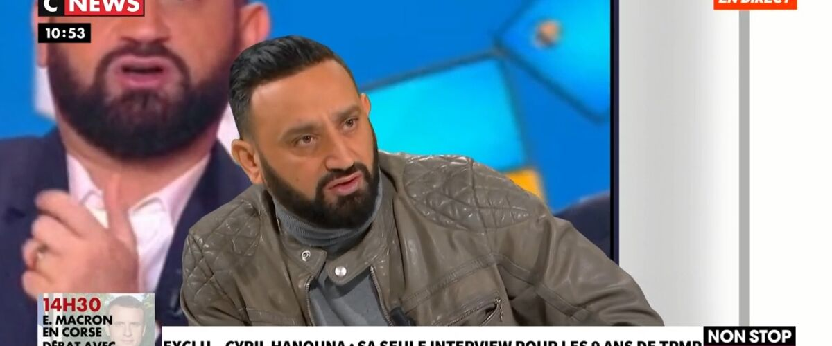 """""""C'était trop vulgaire"""" : Cyril Hanouna comprend certaines critiques contre TPMP et se félicite du virage pris"""