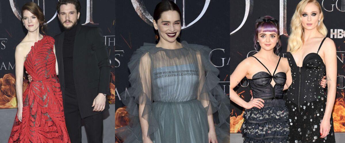 Game of Thrones : Emilia Clarke, Kit Harington, Maisie Williams... Du glamour et des moments insolites à l'ava