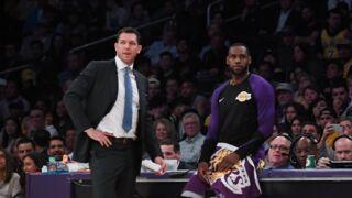 NBA : les Los Angeles Lakers se séparent de leur coach Luke Walton !