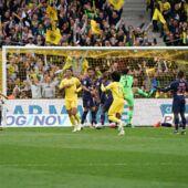 Ligue 1 : le PSG coule face à Nantes et repousse la date de son sacre de champion de France !