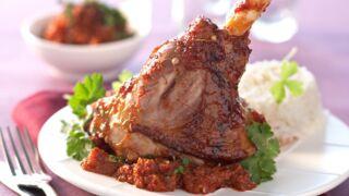 Pâques : la recette facile de la souris d'agneau laquée aux épices