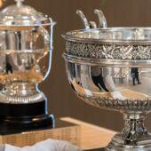 Roland-Garros 2019 : comment s'appellent les trophées ?
