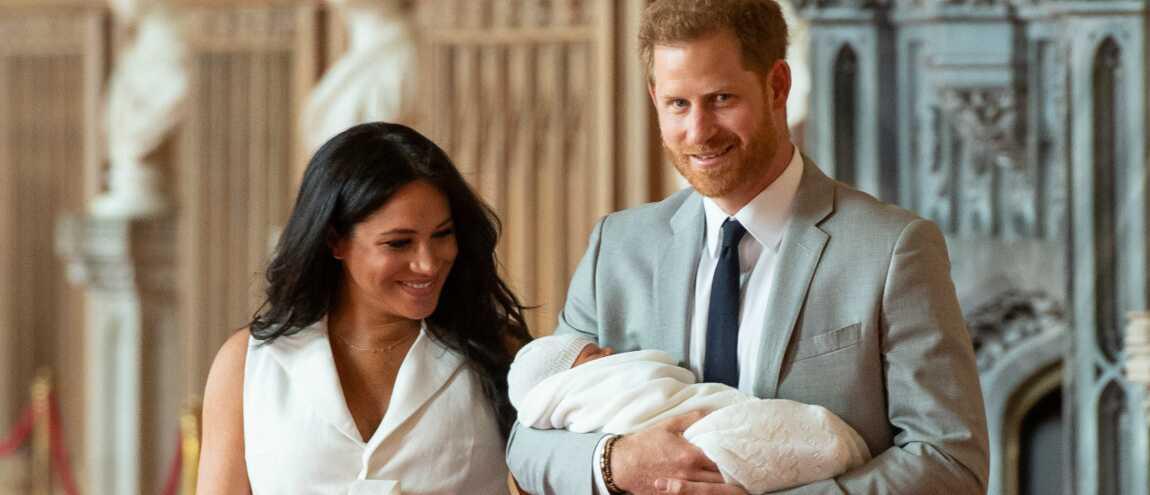 92ff9d94d9748 Prince Harry et Meghan Markle   les premières images avec leur bébé (PHOTOS)