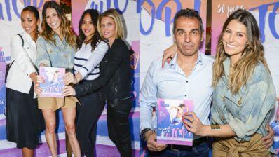 Laury Thilleman entourée de ses copines Miss France et de son père pour le lancement de son nouveau livre (PHOTOS)