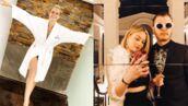 Instagram : Elodie Gossuin pose en peignoir, selfie en amoureux pour Norman et Martha... (PHOTOS)