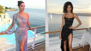 Cannes 2019 : Iris Mittenaere et la top Cindy Bruna sublimes en robe fendue (PHOTOS)
