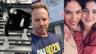 Dounia Coesens s'éclate dans L'Art du crime, retour au Peach Pit pour Ian Ziering... Les tournages de la semaine (PHOTOS)