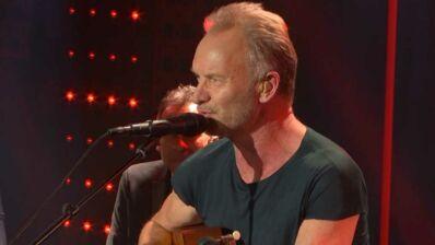 Exclu. Sting interprète son tube Desert Rose dans le Grand Studio RTL (VIDEO)