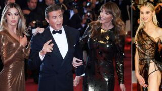 Cannes 2019 : Sylvester Stallone en famille, Meredith Mickelson incendiaire sur le tapis rouge (PHOTOS)