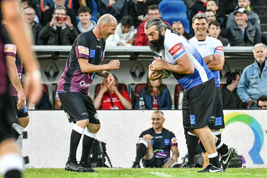 La deuxième mi-temps, au rugby !