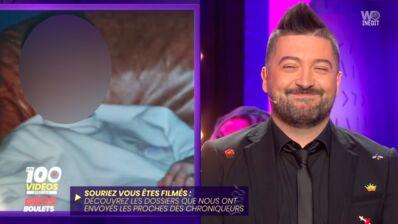 Chris Marques très gêné devant une photo de lui adolescent... Et méconnaissable ! (VIDEO)