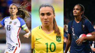 Coupe du monde féminine de football 2019 : découvrez les 10 joueuses stars de la compétition ! (PHOTOS)