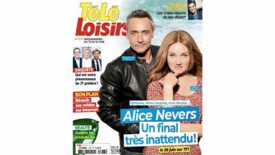 A la Une de Télé-Loisirs : Alice Nevers, nos révélations exclusives sur le final de la saison