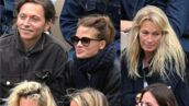 Roland-Garros 2019 : Romain Duris avec un joli couvre-chef, Estelle Lefébure passionnée, Mélanie Thierry et Raphaël en amoureux... du lourd dans les travées pour le match Federer/Nadal