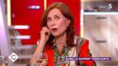 Léger malaise entre Anne-Elisabeth Lemoine et Isabelle Huppert sur le plateau de C à vous... (VIDEO)