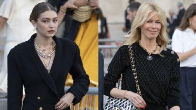 Gigi Hadid, Claudia Schiffer, Brigitte Macron… Un parterre très glamour pour l'hommage à Karl Lagerfeld (PHOTOS)