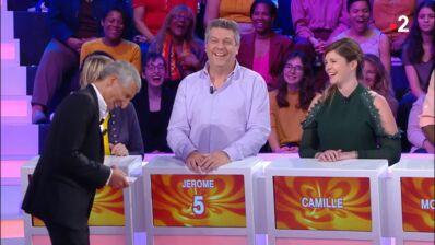 Le roi de l'apéro : Nagui hilare après l'anecdote d'une candidate sur Camille Lacourt (VIDEO)