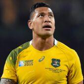 Homophobie : malgré le scandale qu'il a déclenché, le rugbyman Israel Folau persiste