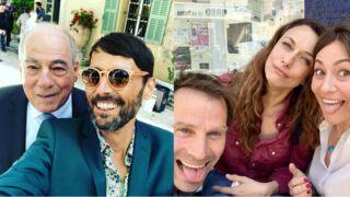 Les selfies de Laurent Kerusoré, la canicule qui s'invite sur le tournage de Sam et d'Un si grand soleil... Tous les tournages de la semaine (PHOTOS)