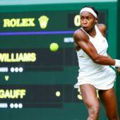 Wimbledon2019 : quand la révélation Cori Gauff rencontre la légende Roger Federer (VIDEO)
