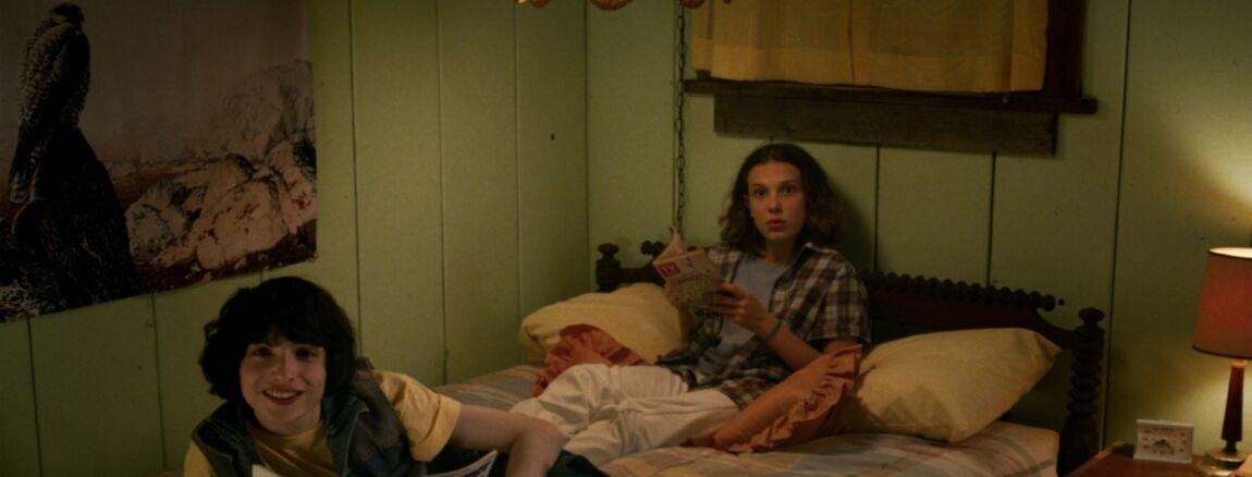 Finn Wolfhard Mike Dans Stranger Things Embrasser Millie