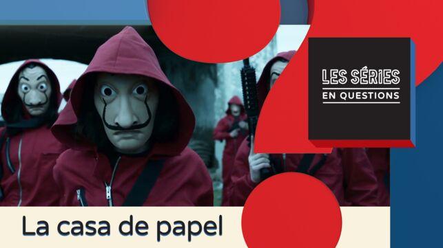 La Casa de papel (Netflix) : pourquoi le masque des braqueurs représente-t-il le visage de Dalí ? (VIDEO) - actu - Télé 2 semaines
