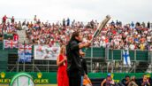 Grand Prix de Grande-Bretagne (Silverstone) : Romain Grosjean casse son aileron avant... dans la voie des stands ! (VIDEO)