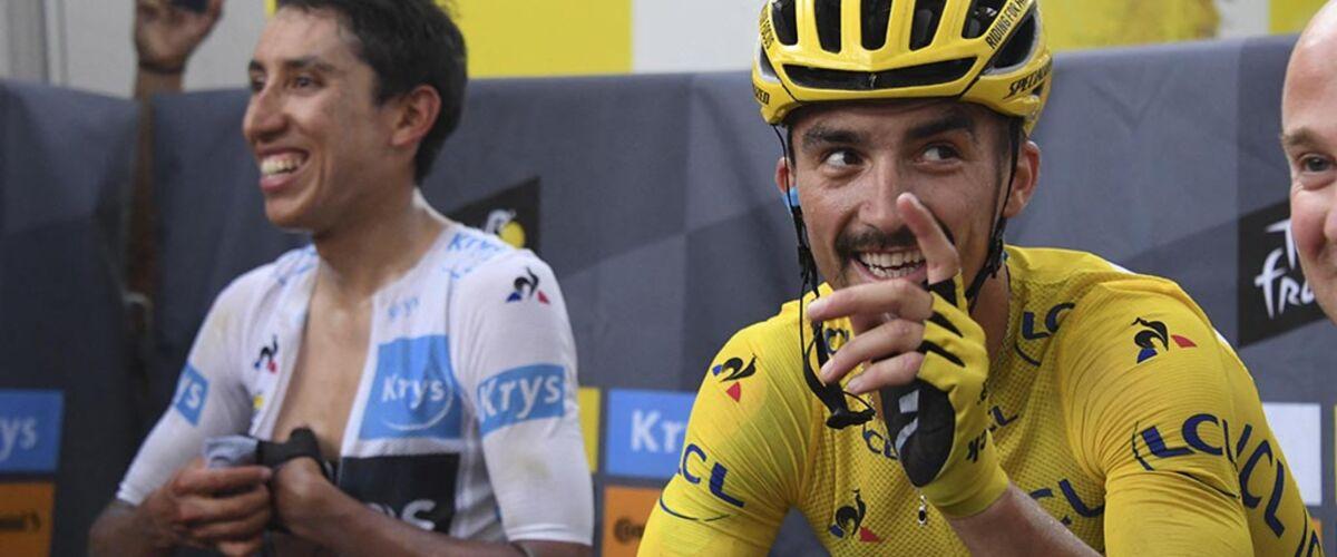 Tour de France 2019 : la magnifique réaction de Julian Alaphilippe face à un enfant frigorifié (VIDEO)