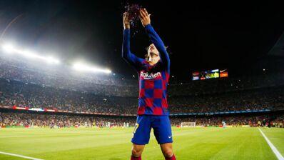 Antoine Griezmann : sa nouvelle célébration de but avec paillettes a bien fait rire Lionel Messi (VIDEO)