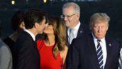 Un baiser torride ? Melania Trump et Justin Trudeau enflamment la toile ! (PHOTO)