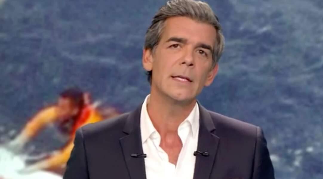 Xavier De Moulins, présentateur régulier du 19.45 de 2010 à aujourd'hui