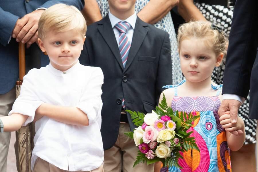 Les deux petits princes, très sages et toujours aussi craquants