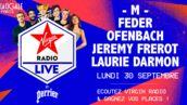 Virgin Radio Live : gagnez vos place pour le concert  - M -, Jérémy Frérot, Feder, Ofenbach et Laurie Darmon