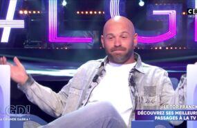 Le comédien Franck Gastambide très mal à l'aise après une révélation de Laurent Baffie dans La grande darka !