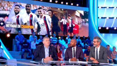 Le tacle (presque) passé inaperçu d'Olivier Dacourt à Pierre Ménès dans le Canal Football Club (VIDEO)