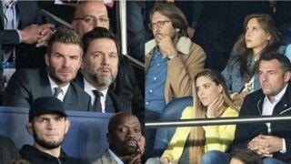 David Beckham, Ophélie Meunier, Roméo Elvis, Isabelle Huppert… les stars se sont bousculées au match PSG/Real Madrid (PHOTOS)